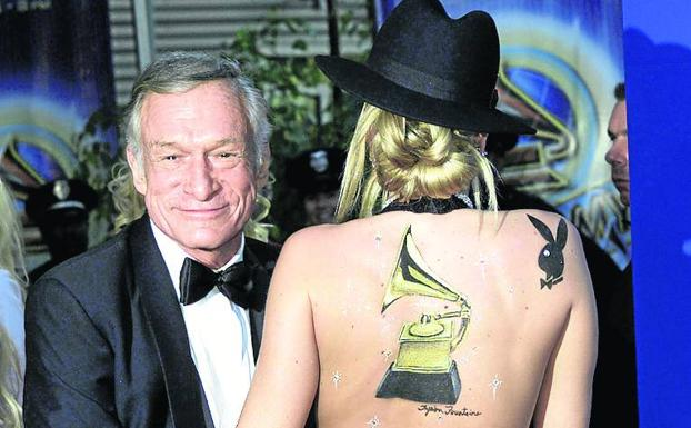 Hugh Hefner, fundador del Imperio Playboy./Reuters
