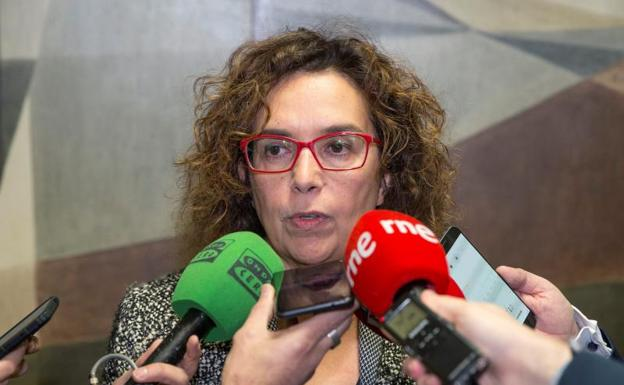 Esther Queraltó, secretaria general de la ACB. /EFE