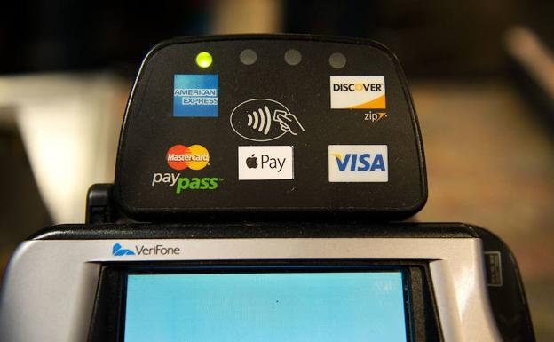 Apple Pay, una de las formas de pago más ultilizadas./AFP