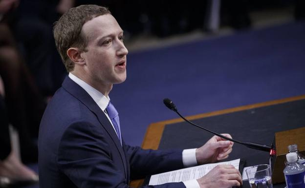 El presidente y fundador de Facebook, Mark Zuckerberg.