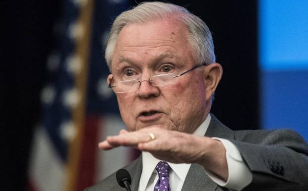 Jeff Sessions. /NICHOLAS KAMM (AFP)
