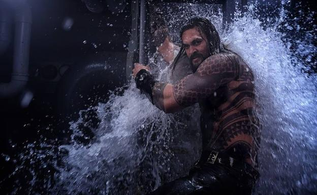 Jason Momoa es Aquaman en el filme de James Wan./