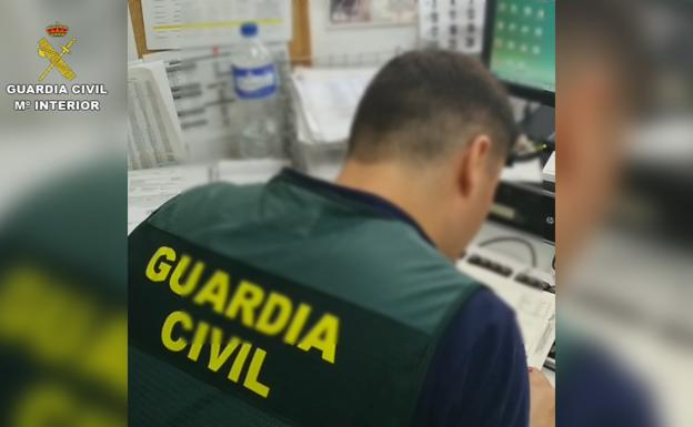 Agente de la Guardia Civil./Guardia Civil