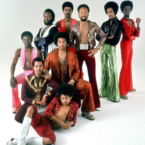 La banda Earth, Wind & Fire./