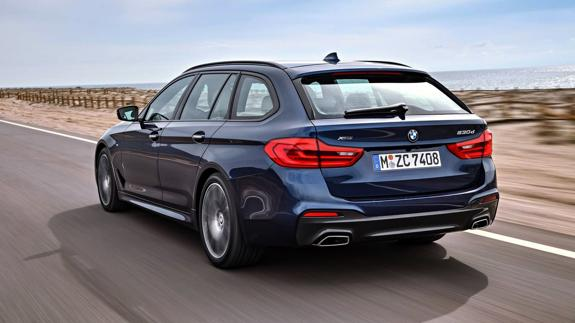 BMW Serie 5 Touring, presumir de familiar